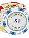 14g motif colore couronne puce argile de mahjong jouets de divertissement