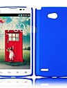 For LG Case Solid Color Frosted PC Hard Back Cover Case for LG L80