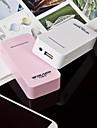 wdland 아이폰 6 5 초 4S, 갤럭시 S5를 S4 S3 노트 3, 4, 아이 패드와 다른 사람에 대한 5200mah 외부 배터리 전원 은행 충전기
