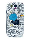 Ok Cartoon Pattern Hard Case Cover for Samsung Galaxy S3 I9300