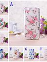 pequeno padrão floral fresco TPU capa mole para iphone 6 / 6s