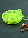 Portable Round Rotatable Small Opening Kit Random Colour