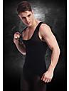 속옷 바디 셰이퍼 조끼 허리 코트 셔츠 회사의 배를 배꼽 가슴 나일론 검은 색 ny027 슬리밍 남자