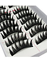 Eyelashes lash Eyelash Volumized Curly Fiber