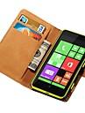 caso genuíno carteira de couro para Nokia Lumia 625 está com cartão de crédito titular nova chegada