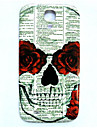 Skull Pattern Thin Hard Case Cover for Samsung Galaxy S4 I9500