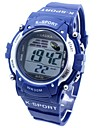 Men's Sporty  Digital Silicone Band Wrist Watch Cool Watches Unique Watches