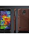 Чехол кожаный для Samsung Galaxy S5 i9600