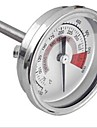 Barbecue BBQ Pit Grill Thermometer Gauge 300°C