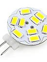 200lm G4 Точечное LED освещение A60(A19) 12 Светодиодные бусины SMD 5730 Декоративная Холодный белый 12V / RoHs
