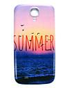 Летом пляж картина тонкая крышка жесткий футляр для Samsung Galaxy s4 мини i9190