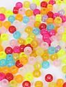 Ювелирные изделия DIY 80 Браслет из разноцветных резинок Бусины Акрил Шарик DIY Ожерелье Браслеты
