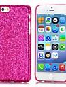 For iPhone 6 etui / iPhone 6 Plus etui Other Etui Bagcover Etui Glitterskin Hårdt PC iPhone 6s Plus/6 Plus / iPhone 6s/6