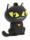 zp55 desenhos animados 32gb usb 2.0 flash drive gato preto