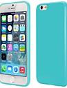 용 아이폰6케이스 / 아이폰6플러스 케이스 Other 케이스 뒷면 커버 케이스 단색 소프트 TPU iPhone 6s Plus/6 Plus / iPhone 6s/6