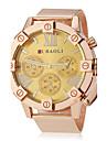 JUBAOLI Муж. Нарядные часы Кварцевый Нержавеющая сталь Группа Золотистый