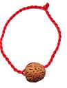 China vermelho clássico Red Pulseira Corda simbolizam a riqueza e Nozes