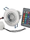 Светодиодная лампа-спот 9W RGB с пультом дистанционного управления (85-265В)