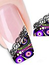 1 pcs Abstract / Punk / Fashion Water Transfer Sticker / 3D Nail Stickers Daily