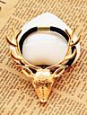 мода металлические рождественских оленей украшения ткани волос связей (1 шт) (золото, бронза)