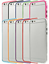 Для Кейс для iPhone 6 / Кейс для iPhone 6 Plus Other Кейс для Бампер Кейс для Один цвет Твердый PC iPhone 6s Plus/6 Plus / iPhone 6s/6