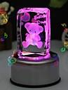 персональный подарок медведь кристалл музыкальная шкатулка liwuyou ™