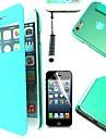 아이폰 6 (모듬 된 색상)에 대한 터치 펜과 보호 필름 4.7 인치 창 투명 커버 케이스