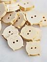 γουρουνάκι λεύκωμα scraft ράψιμο diy ξύλινα κουμπιά (10 τμχ)