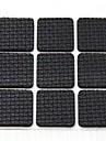 18 шт вязкой квадрат столы и стулья нога противоскольжения защитная накладка (случайный цвет)