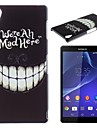 Crazy Teeth Pattern PC Hard Case for Sony Z1 L39H