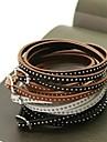 Bracelets en cuir Multicouches Cuir Bijoux Pour Mariage Soirée Quotidien Décontracté Regalos de Navidad