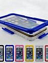 Для Кейс для iPhone 6 / Кейс для iPhone 6 Plus Водонепроницаемый Кейс для Чехол Кейс для Один цвет Твердый PCiPhone 6s Plus/6 Plus /