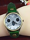 Women\'s Fashion Owl PU Guartz Wrist Watch(Assorted Colors) Cool Watches Unique Watches