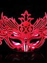 Flash Plastic Material Fancy Dress Party Halloween Mask (Random Color)
