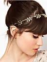 Golden Leaves Hair Hoop Headband