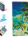 синий небо образец искусственная кожа Полный чехол тело для iPhone 4 / 4s