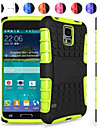 Two-in-One Tire Grain Design PC and Silicone Case with Stand for Samsung Galaxy S5 Mini G800