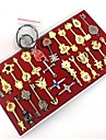 Fairy Tail Lucy Constellation Union Keys Cosplay Accessories Set (26 Pieces)
