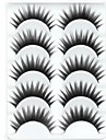 Ögonfrans Lösögonfransar 10 pcs Volym Lockigt Tjock Fiber Dagligen Tjock Naturligt långa - Smink Vardagsmakeup Kosmetisk Skötselprodukter
