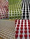 5sheet / set 300pcs / hoja de pegatinas scrapbooking 5mm perla color mezclado autoadhesiva