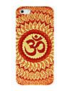 Mandala Circle Leaves PC Case for iPhone 4/4S