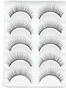 New 5 Pairs Natural Black Long Thick False Eyelashes Eyelash Eye Lashes for Day Eye Extensions