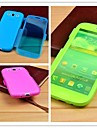Flip The Buckle Multicolor optional TPU Leather Body Case for Samsung i9300(Assorted color)