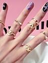 shixin® стиля Кореи модный панк-заклепки миди кольца (7 шт)