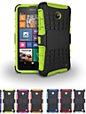 Two-in-One Tire Grain Design PC and Silicone Case with Stand for Nokia Lumia N630 (Assorted Colors)