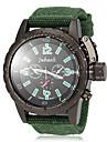 JUBAOLI Pánské Vojenské hodinky Náramkové hodinky Křemenný Černá / Červená / Zelená Žhavá sleva Analogové Přívěšky - Černá Červená Zelená