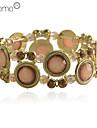 lureme®pink resina circular pulseira elástica