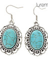Women's Drop Earrings Rhinestone Turquoise Alloy Jewelry Daily Costume Jewelry