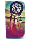 Dream Catcher Pattern PU Leahter Full Body Cover with Stand and Card Slot for Samsung Galaxy Trend Plus S7580/S7562