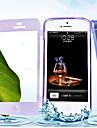 touch screen TPU caso de corpo inteiro transparente para iPhone 4 / 4S (cores sortidas)